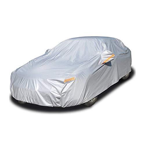 BCGT Car-Cover Wasserdicht Allwetterschutz atmungsaktiv Schnee- Staubdichtes Universal-Fit volle Auto-Abdeckungen for Sedan (Size : S)