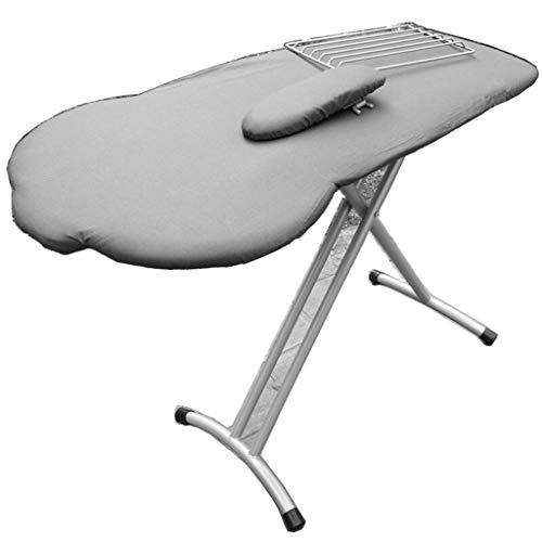 GBPOY Tabla de Planchar Tabla de Planchar Plegable, Grande, Irregular, Planchado doméstico, Plateado 106 * 90CM Mesa de Planchar portátil (Color : Silver)