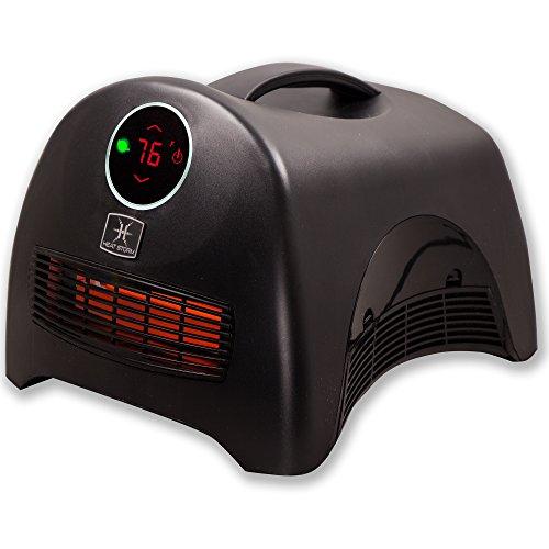 Heat Storm HS-1500-ISA Sahara Indoor Ultra Lightweight Portable Infrared Space Heater