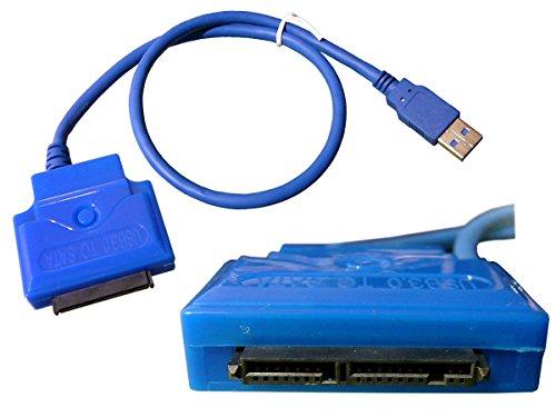 KALEA INFORMATIQUE–Adaptador MicroSATA a USB 3.0
