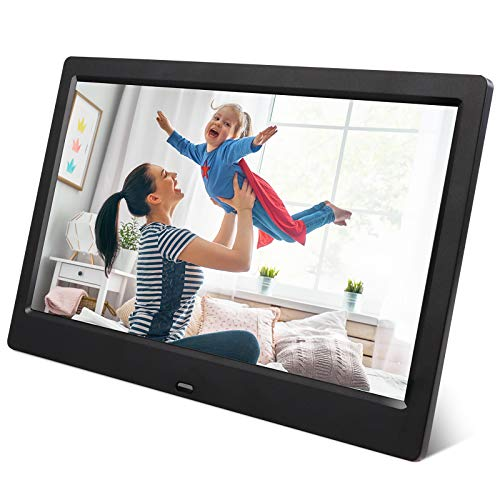 ARUNGO Digital Photo Frame Picture Frame 7 inch Digital Frame Video Music Player Support USB SD Slideshow with Remote Controller Gift Package