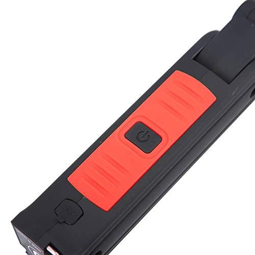 Uxsiya Actividades al Aire Libre con luz de 360 Grados para la Caza(Rojo)