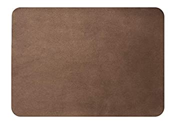 MastaPlasta Self-Adhesive Instant Suede Repair Patch XL Plain 8 x 11 Inch Suede Brown First-Aid for Sofas Car Seats & More