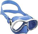Cressi Marea Jr Mask Kinder Tauchmasken, Blau, Einheitsgröße
