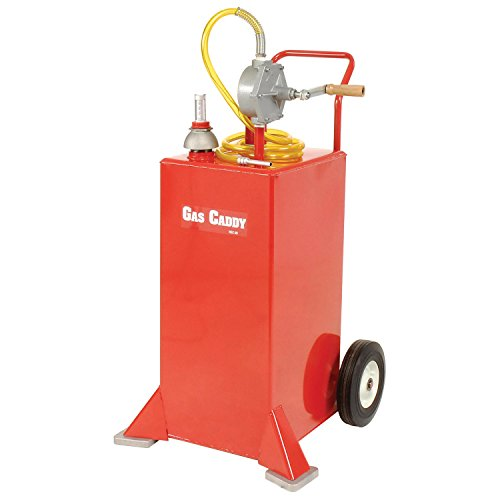 John Dow 30 Gallon Portable Steel Gas Storage Caddy, UL Listed, HGC-30UL
