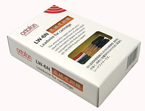 Ortofon LW-6N Cables para portacápsulas