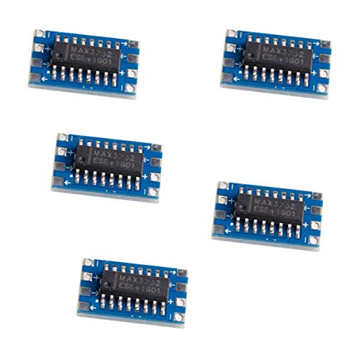Monllack 5 Stücke RS232 Zu TTL MAX3232 Konverter Adapter Modul Serielle Schnittstelle Mini Board Neue Hochleistungs Tragbare Größe