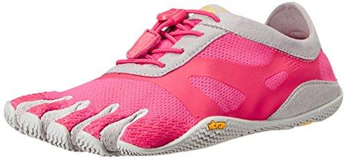 Vibram FiveFingers Kso Evo, Zapatillas De Deporte Mujer, Rosa (Pink/Grey), 37