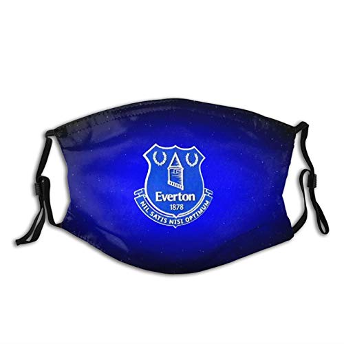 Everton Fc Face Masks Washable Reusable Safety Masks Protection from Dust Pollen Pet Dander Other Airborne