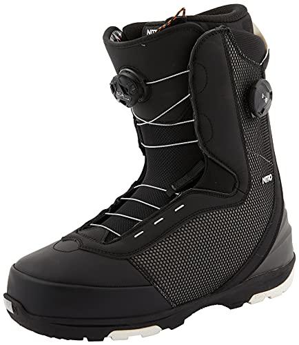 Nitro Bottes de Snowboard Club Boa Dual Boot 21 pour Homme, Noir, 48