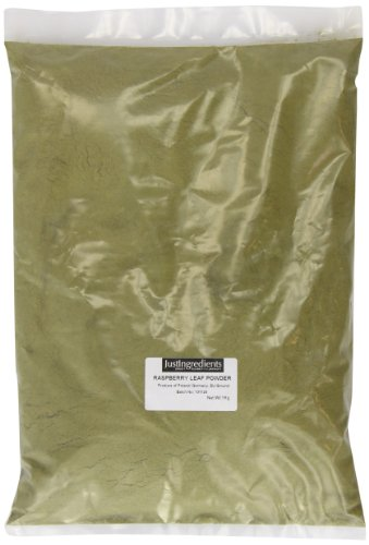 JustIngredients Essential Poudre de feuilles de framboisier (Raspberry Leaf Powder) 1kg
