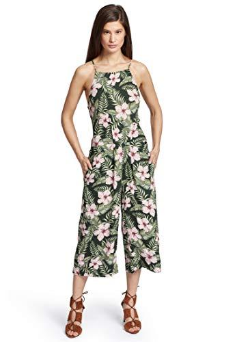 khujo Damen Jumpsuit SOLENN sommerlicher Einteiler mit schmalen Trägern und Bundfalten