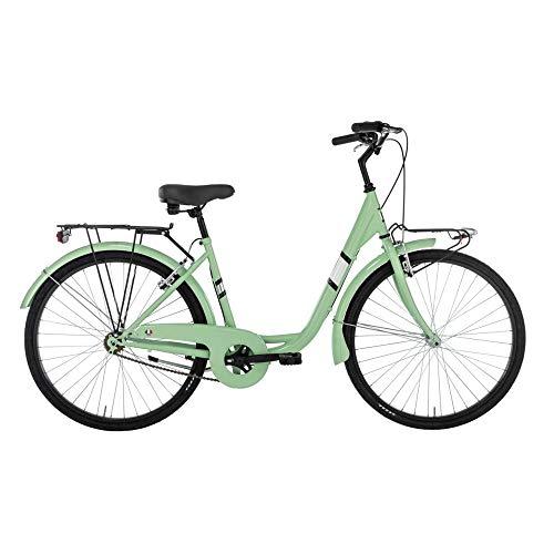 Alpina Bike Venere, Bicicletta da Città Donna, Verde Menta, 26