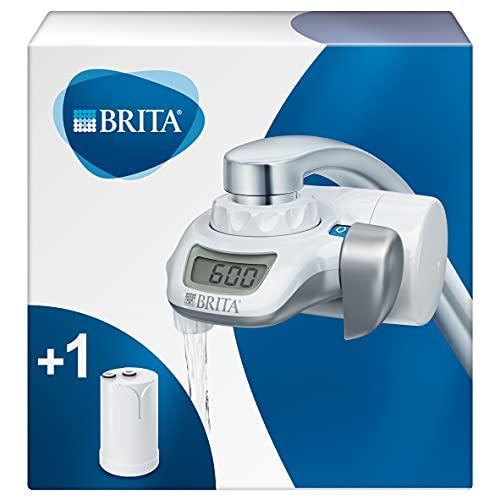 BRITA On Tap Wasserfilter für den Wasserhahn inkl. 1 On Tap Wasserfilterkartusche und verschiedene Adapter – BRITA Filter zur Filtration von Leitungswasser