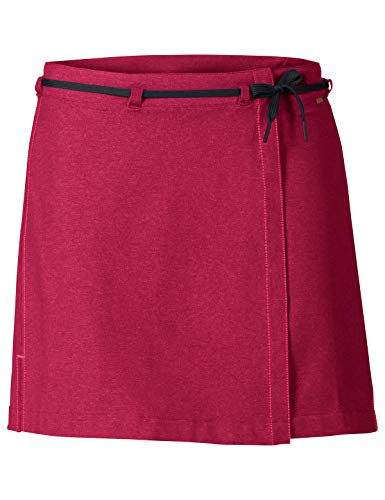 VAUDE Damen Tremalzo Skirt II Rock für Radsport, crimson red, 40, 405089770400