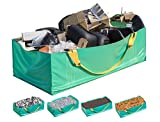 Skywin Dumpster Bag - Foldable and Reusable Construction Bags for Waste, Multiple Times Use During Renovations Tear Resistant and Can Hold Up to 3,500 lbs,Pack of (1)