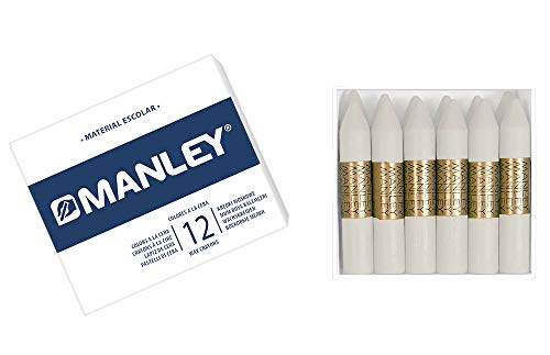 Manley 1–Wax Crayons, Pack of 12