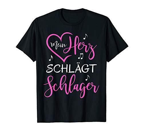 Mein Herz schlägt Schlager T-Shirt