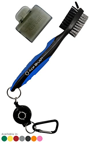 Golf Brush and Club Groove Cleaner (Blue)