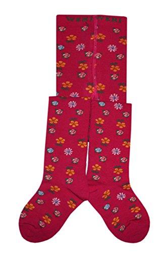 Weri Spezials Bebes et Enfants fleurs lumineuses Collants 2-3 Annees (92/98) Pink