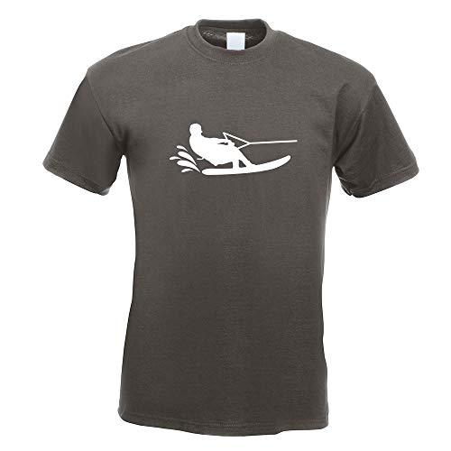 Wakeboarden Ski Sportler T-Shirt Motiv Bedruckt Funshirt Design Print