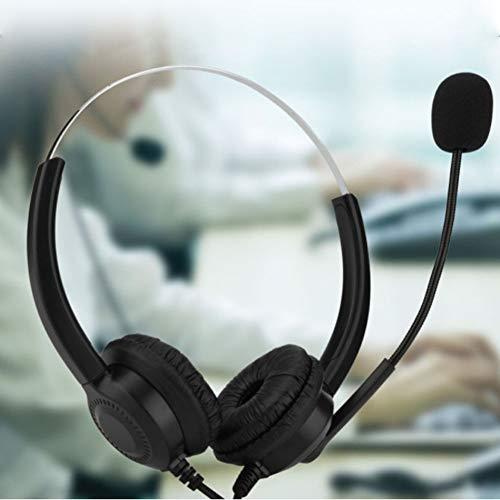 Maifa Casque USB avec microphone et accessoires pour...