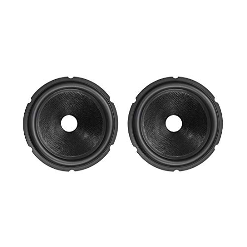 Lowest Price! uxcell 6.5 inches Paper Speaker Cone Subwoofer Cones Drum Paper 1 inches Voice Coil Di...