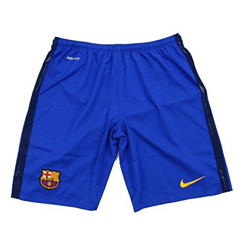 Nike FCB HA GK Stadium Short–Shorts Fußball Club Barcelona 2015/2016Herren L Blau/Gold (Bright Blue/Loyal Blue/University Gold)