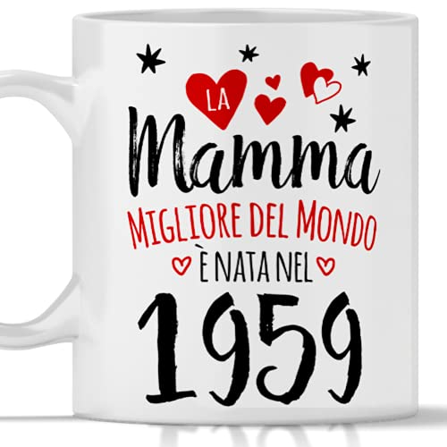 Taza mamá 62 años regalo mujer cumpleaños año 01959
