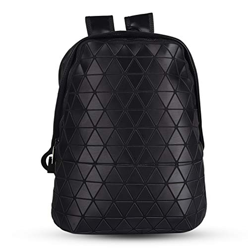 OPTIMA Umma Do Me Moto women custom reflective PVC foldable geometric bag luminous backpack