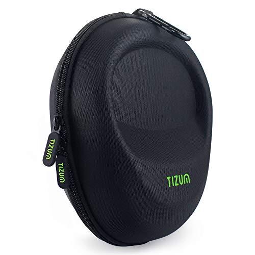 TIZUM Z33 Headphone EVA Case for Universal Over-Sized Headphone (Black)