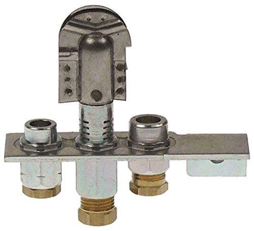 Polidoro - Quemador de encendido (3 focos, gas natural, 6 mm, número de identificación 29,2)