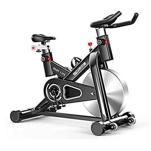 WJFXJQ Bicicleta Smart Spinning, Reloj y Juegos electrónicos incorporados, Montar en 3D de la Vida Real, Equipos fijos de Aptitud Interior for Entrenamiento en Bicicleta de Entrenamiento en casa