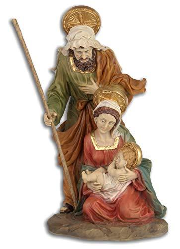 Aubaho Marie José Jesús Sagrada Figura Navidad Belén Pintado a Mano Estilo...
