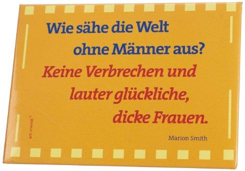 ars vivendi Verlag 1192 - Imán, 85 x 63 mm