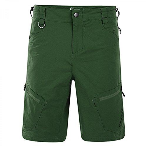 Dare2b Tuned in pantaloncini da uomo ACTIVE, Verde, W32