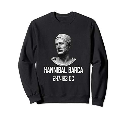 Hannibal Barca 247-183 BC The Greatest Carthage General Sweatshirt