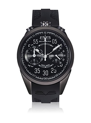 Bomberg Reloj con Movimiento Cuarzo Suizo Man 1968 39 mm