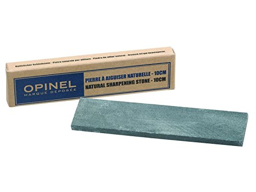 Opinel kleiner natur Schleifstein Quarz-Karbonat für glatte Klingen 10 cm