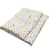 DNAEGH Mantas para bebés Recién Nacido, Algodón orgánico Bambú Baberos para bebés Muselina Swaddle Wrap, Burpy Towel Scarf Big Diaper. DD