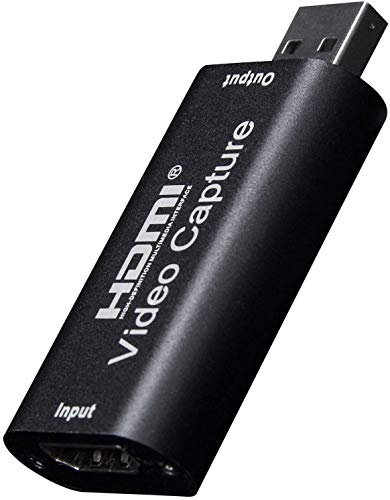 Y&H HDMI Video Capture Card HD 1080P Video Record via DSLR, Camcorder, Action Cam, unterstützt Broadcast Live Streaming