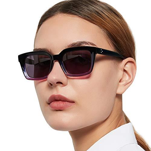 MARE AZZURO Outdoor Reading Glasses Women Filter UV Sunglasses Readers 0.5 0.75 1.0 1.25 1.5 1.75 2.0 2.25 2.5 2.75 3.0 3.25 3.5 3.75 4.0 (Purple, 2.75)