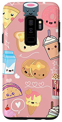 Galaxy S9+ Kawaii Food Phone Case Cute Gifts for Girls Millenial Pink Case