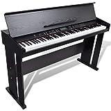 vidaXL Classic Electronic Digital Piano w/ 88 Keys & Music Stand Keyboard