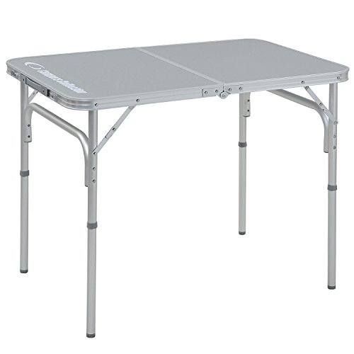 山善 キャンパーズコレクション フォールディングテーブル(幅60奥行90) YAT-6090