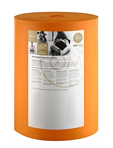 Rollo de Big Premium 30 M x 60 cm x 0.45 cm, rollo de 30 M x 60 cm x 0, 45 cm lavable a máquina hasta 60° C Material: PVC naranja Talla:talla única