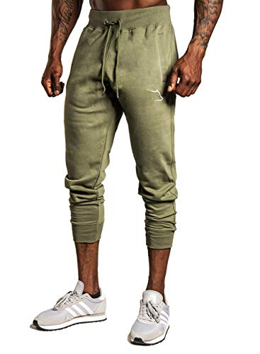 Grizzly Wear Apex Pants | Herren Fitness Jogginghose für Workout | Lange Traingshosen zum Outdoor Joggen (Large)