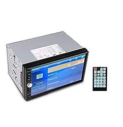 Cave HD 7-Inch TFT 2-DIN 12 V Car Video Stereo Receiver with FM Radio, Bluetooth Phone, USB/SD/MMC,RJ Car Decorators.,Cave