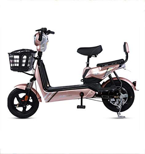 Inicio Equipos Movilidad eléctrica Scooter bicicleta eléctrica batería para adultos coche hombres y mujeres ligero pequeño mini scooter eléctrico pedal ciclomotor 350W imán permanente motor sin esc