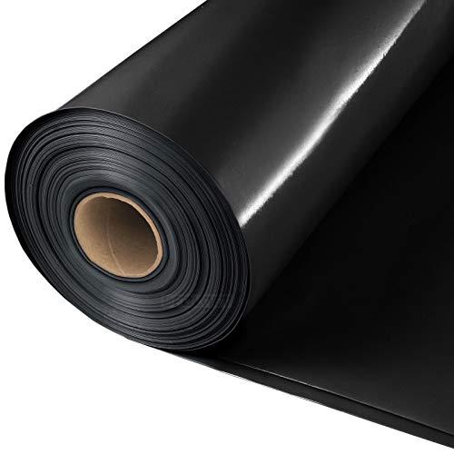 Baufolie Typ 200 Abdeckfolie Estrichfolie PE Folie schwarz 0,20mm 4x25m 100m²